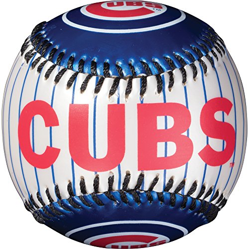 Cubs Logo Baseball - Franklin Sports MLB Chicago Cubs Team Softstrike Baseball