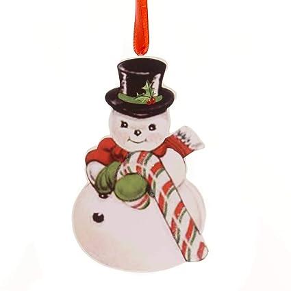 d6c8ebdd0135dd Amazon.com  Holiday Ornaments Retro Christmas Dummy Board Reindeer ...