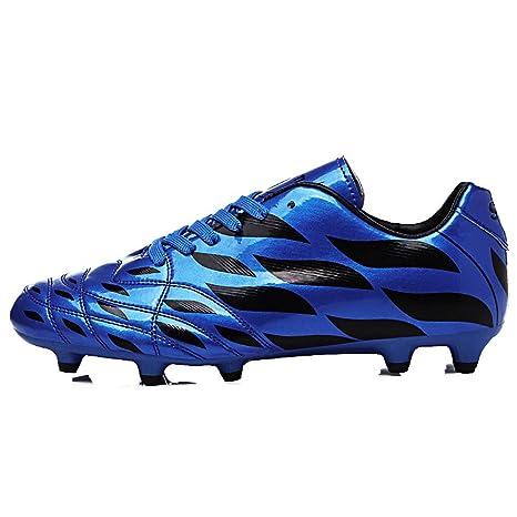 Zapatos De Fútbol Para Amantes/Botines De Fútbol De Cuero Cómodo/Botas De Fútbol/Antideslizante De Fútbol: Amazon.es: Ropa y accesorios