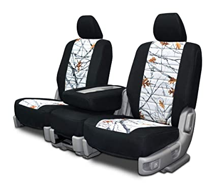 Jeep Renegade Seat Covers >> Custom Fit Seat Covers For Jeep Renegade Front Low Back Seats Snowfall Neo Camo Fabric