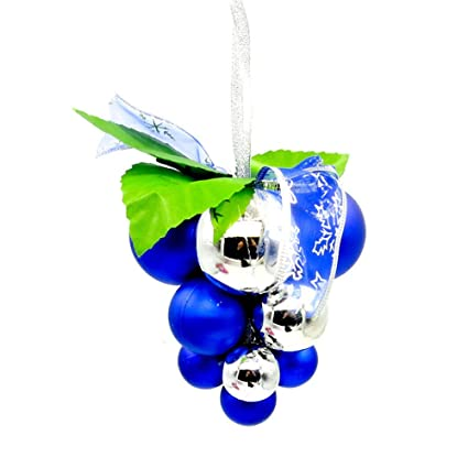 christmas tree ornamentsfaber3 12pc unique christmas ornaments grape ball christmas tree decoration for holiday