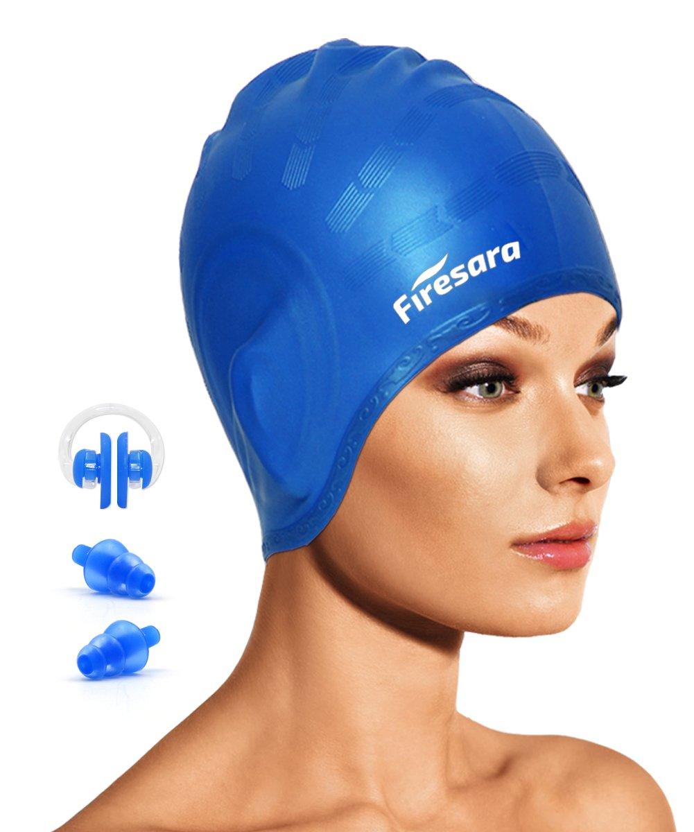 54833b9d0eb7 Top 10 Best Swimming Caps for Women With Long Hair 2019-2020 Reviews ...