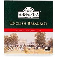 AHMAD TEA English Breakfast Teabags, 100 Count