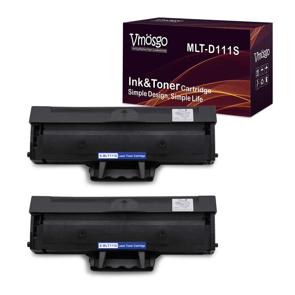 Toner Alternativo ( X2 ) Alta Capacidad Negro Vmosgo MLT-D111S MLTD111S Xpress M2020W M2022W M2070FW M2070W ~1000-Pagina