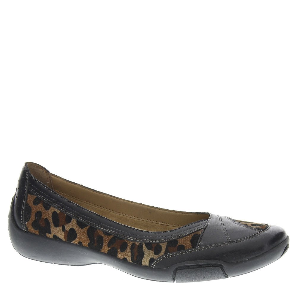 Auditions Verona II Women's Slip On B00IZL4BM4 9 B(M) US|Leopard