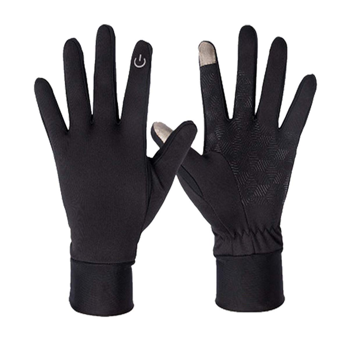 Running Sports Gloves,Lightweight Touchscreen Cycling Windproof Gloves Men Women Riding Climbing Driving Outdoor Anti-Slip Gloves for Winter Early Spring Or Fall