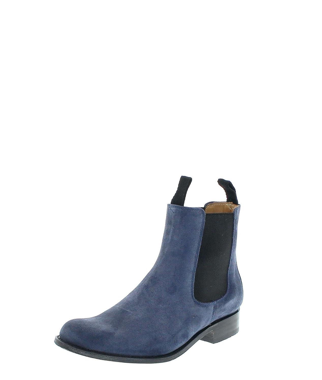 Sendra Stiefel Stiefel 5595 Vesuvio Chelsea Stiefel Damen Damen Stiefelette Blau