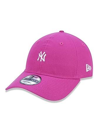 BONE 920 NEW YORK YANKEES MLB ABA CURVA STRAPBACK PINK NEW ERA ... 6982126fd2f4f