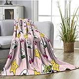 YOYI Polyester blanketHappy Crying Cute Cartoon