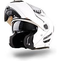 Casco de choque modular abatible para motocicleta NENKI