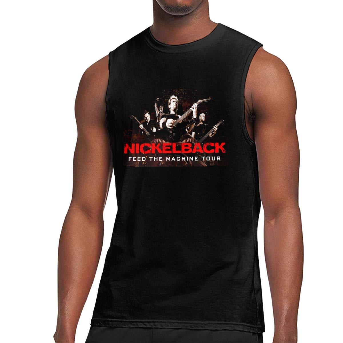 Alwaysuv S Printing Logo Nickelback Sport Sleeveless Ts Shirts