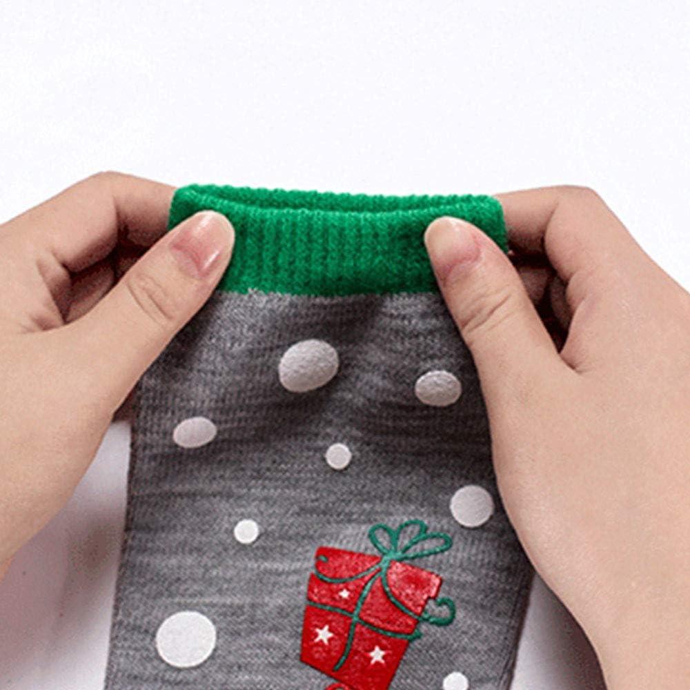 5 Fingers Socks Xmas Stock Neutral Colour Cartoon Stage Performance Wear