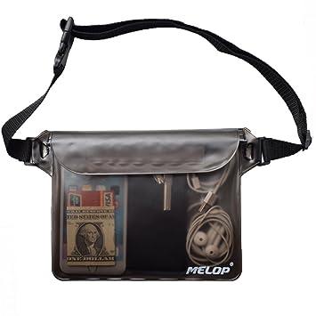 Amazon.com: MELOP, bolsa impermeable con cintura ajustable y ...