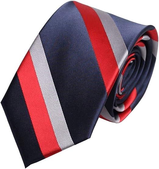 Weiyue Corbata- Corbata de Sarga Gruesa de Tres Colores, Casual ...