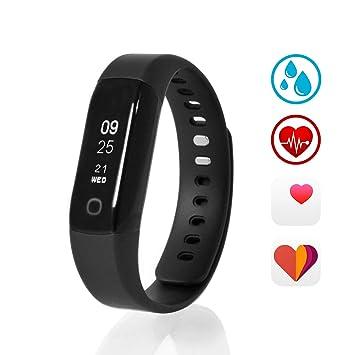f4b06b940fd5 Sharon Wellsmart Cardio Sport - Pulsera Reloj Inteligente Fitness Tracker