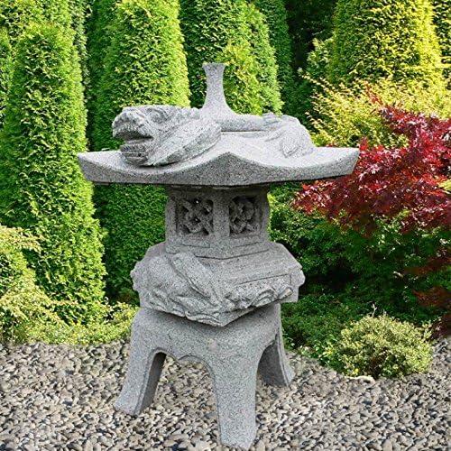 Farol de piedra Jardín Japonés de ensueño – Ich ikawa: Amazon.es: Jardín
