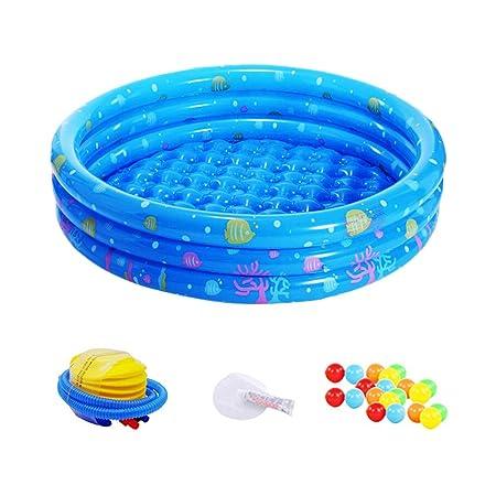 GZQES Piscina Hinchable para Bebe,, PVC Piscina de natación ...