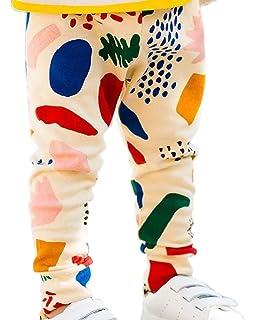 Happy Llama Baby leggings with elastic waistband 95/% cotton Boys Girls Unisex Sweatpants Harem Pants Bloomers Leggings Graphite or Orange Pinokio