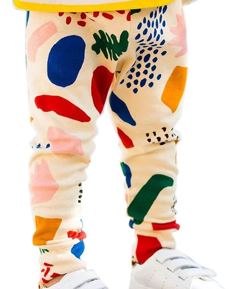 ZHUANNIAN Baby Boys Girls Leggings Trousers Cotton Long Pants