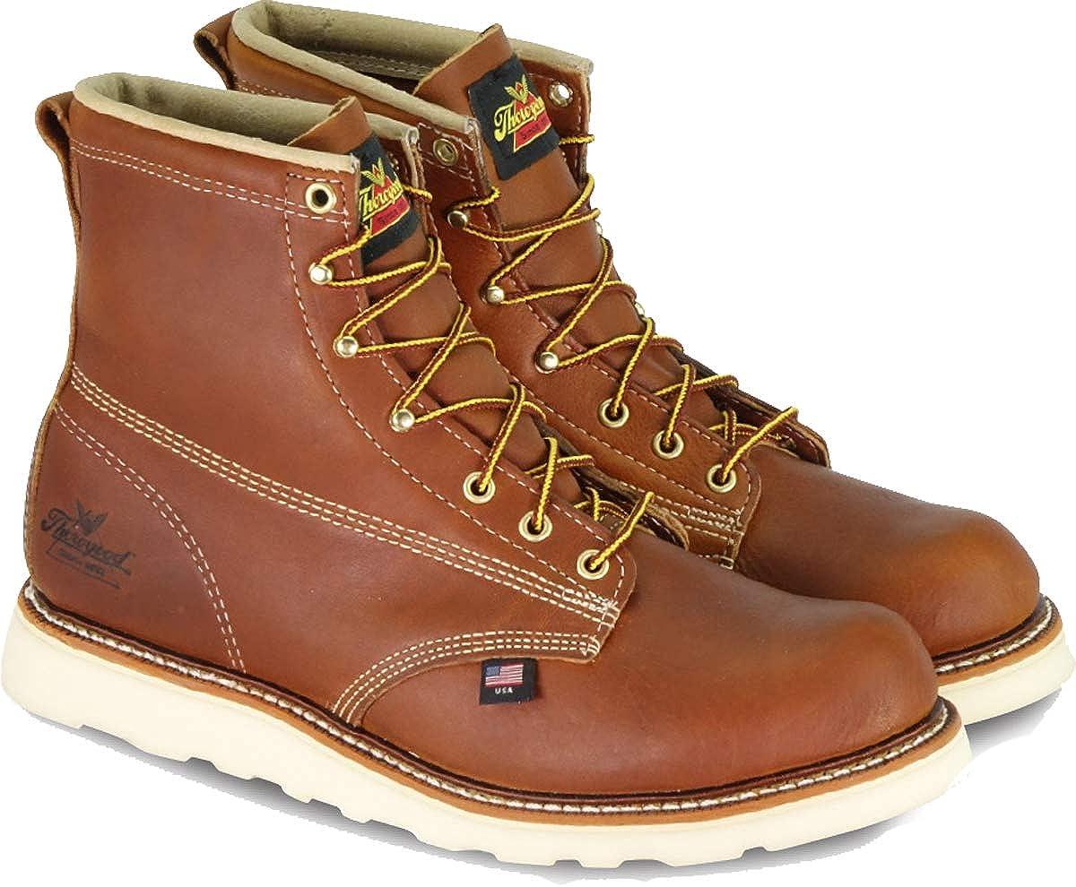 Tobacco Thgoldgood Men's American Heritage 6  Plain-Toe Boot