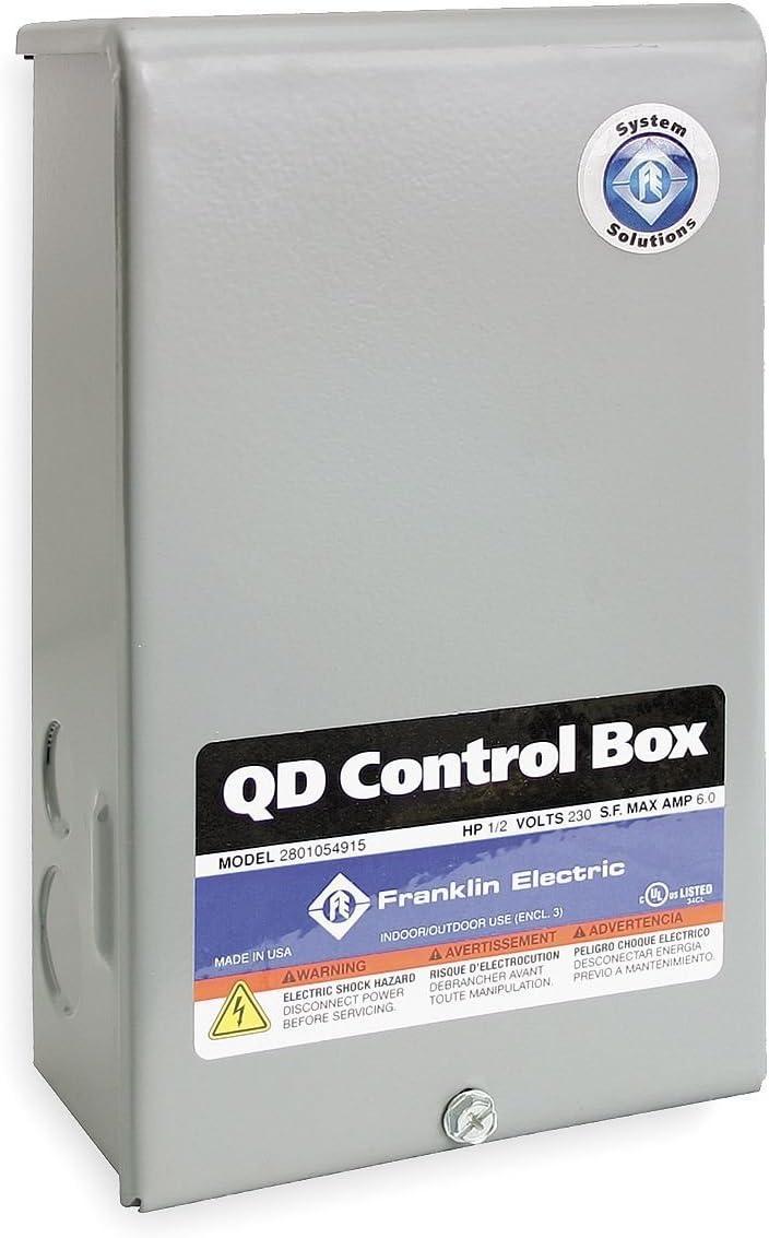 Control Box, 1HP, 230V, 1Phase