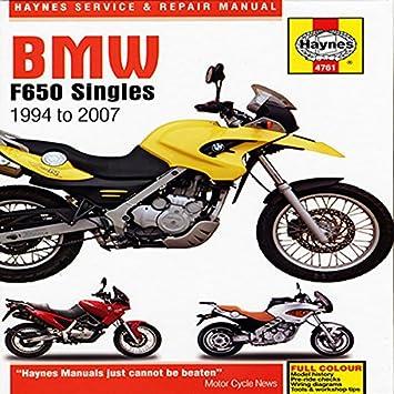 bmw f650 singles 94 07 haynes owners workshop manual amazon co rh amazon co uk bmw f650gs service manual pdf bmw f650gs service manual