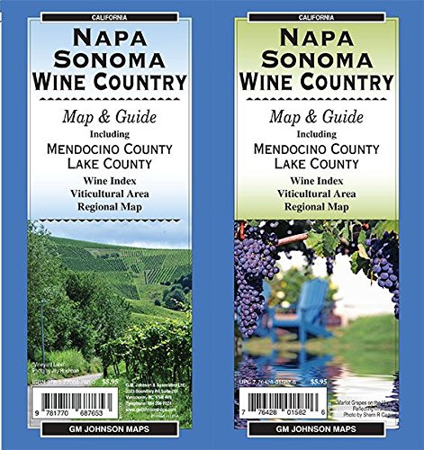 List of the Top 7 napa and sonoma map you can buy in 2019