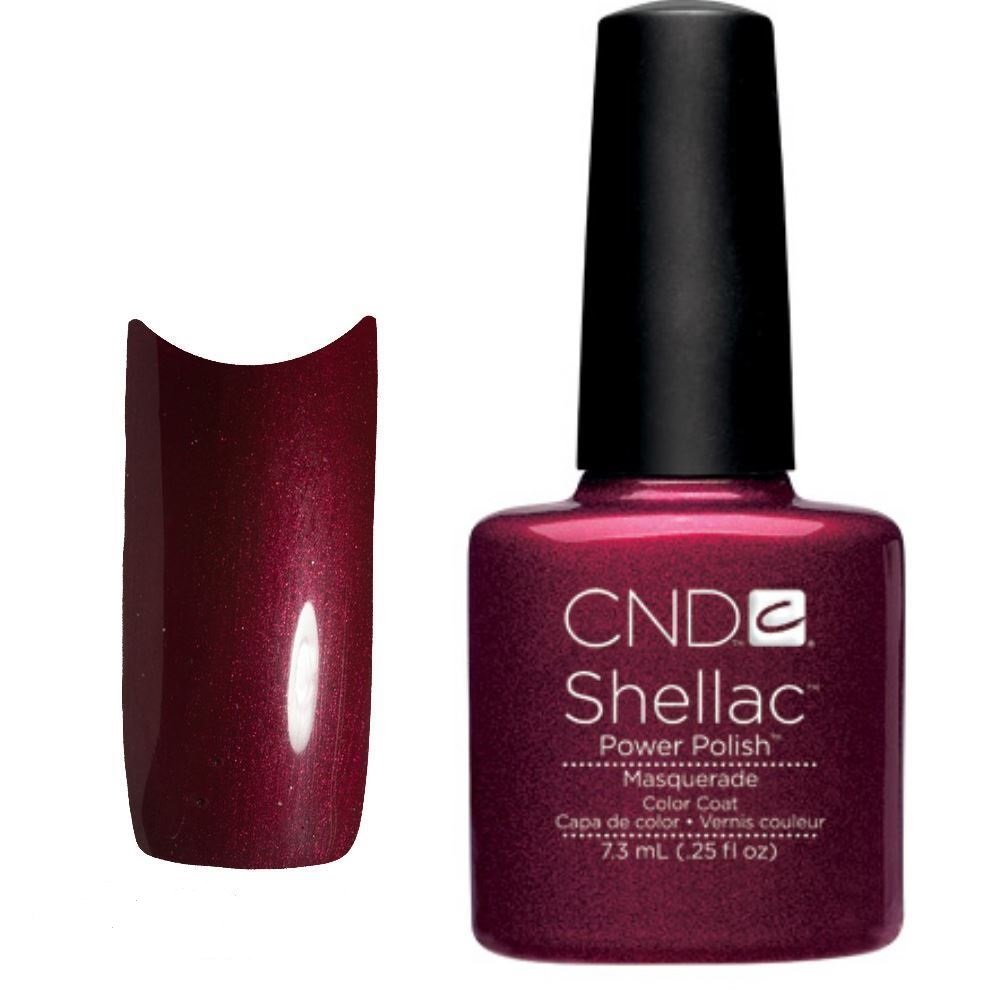 abbastanza CND Shellac Nail Polish, Maquerade: Amazon.co.uk: Beauty OG27