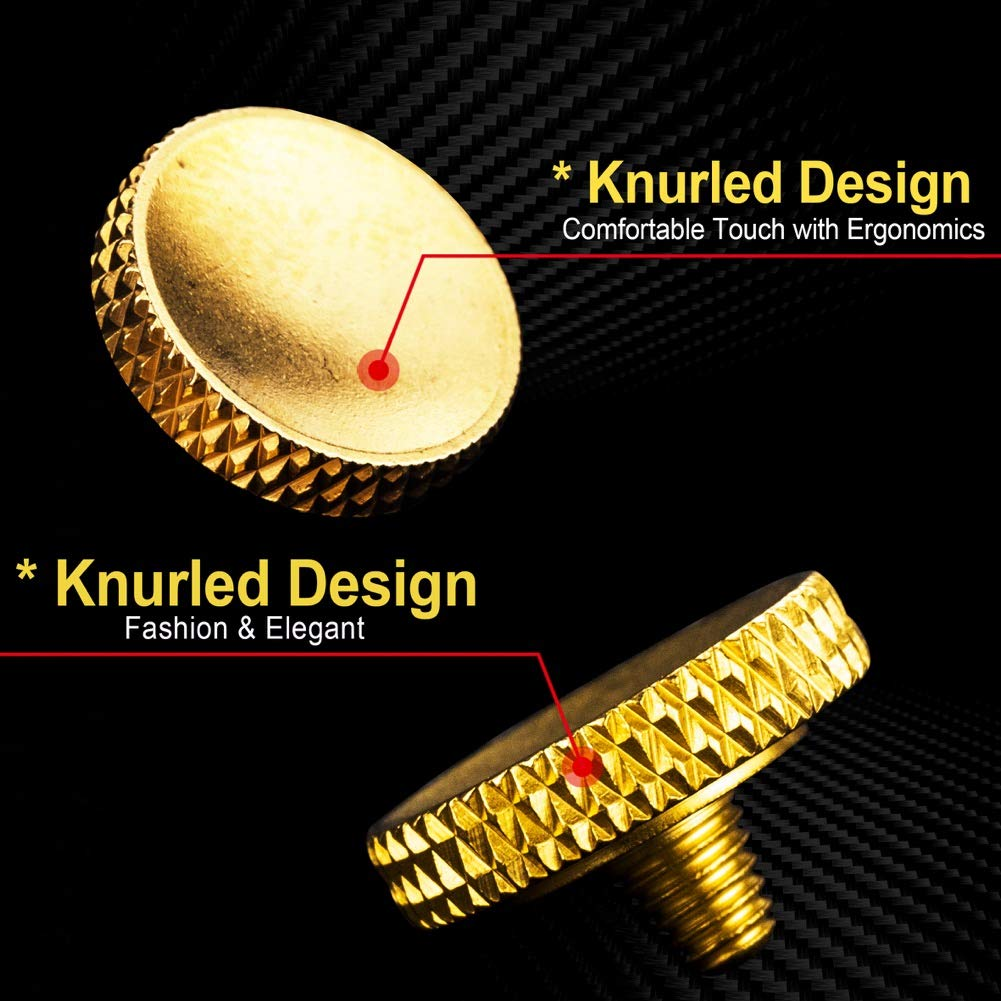 Upscale and Delicate Soft Shutter Release Button 2 Pack//Gold Camera Shutter Button