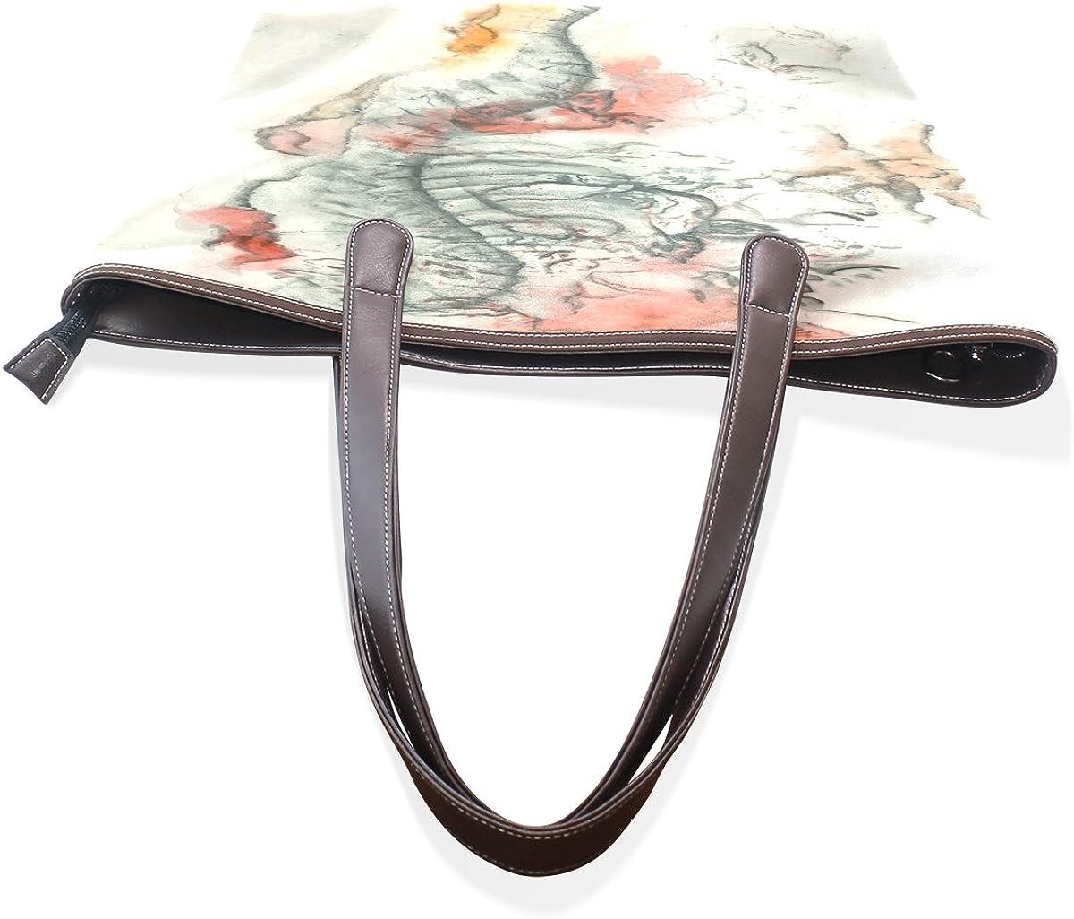 Mr.Weng Household Graffiti Pattern Leather Handbags Satchel ShoulderBag for Women