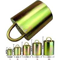 Farm & Ranch Kuh Pferd Schafe Ausrüstung Weideglocken verbesserte Version verhindern den Verlust verzinkter Stahl Material Glocke