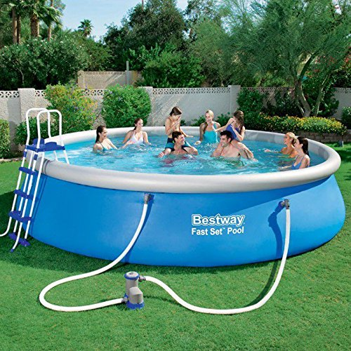 Turbo Bestway Fast Set Pool (with Pump) - 15 Ft: Amazon.co.uk: Garden XT26