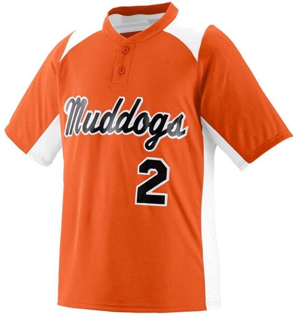 Augusta SportswearメンズGamer野球ジャージー B00HJTMHN8 X-Large|オレンジ/ホワイト オレンジ/ホワイト X-Large