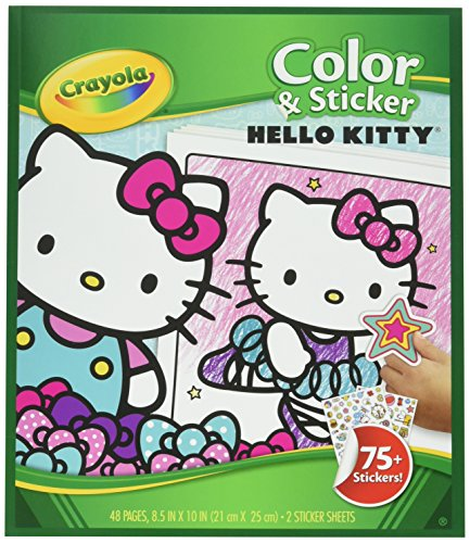 Crayola Color & Sticker, Hello Kitty (04-0221)