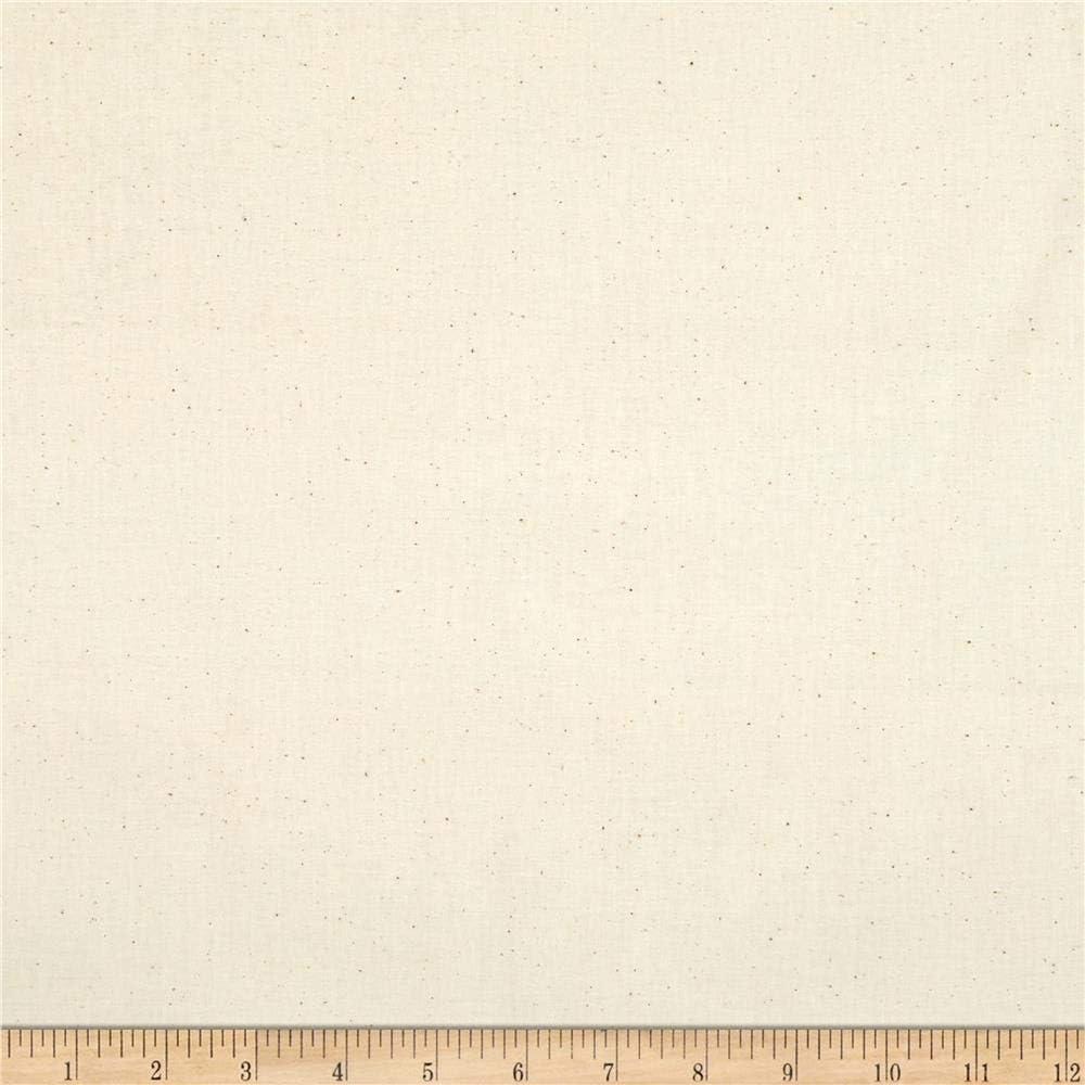 Roc-Lon 45'' Permanent Press Muslin Unbleached (Bolt 25 Yard) Fabric 61WI-oUACgL