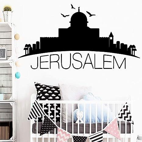 TYLPK Nuevo Jerusalén Vinilo Papel pintado Rollo Muebles ...