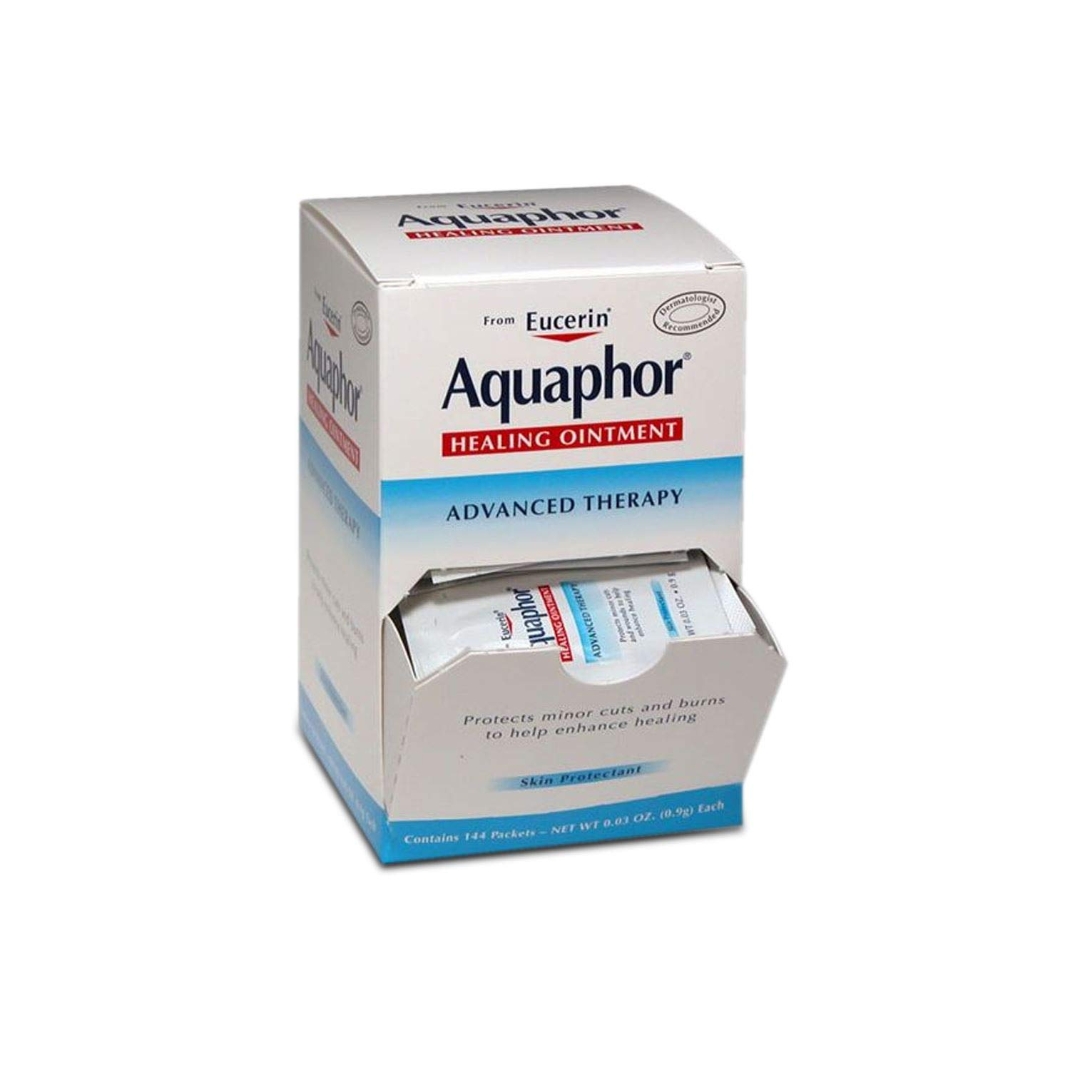 Aquaphor Healing Ointment Advanced Therapy - .9g - Box of 144 Packets by Aquaphor
