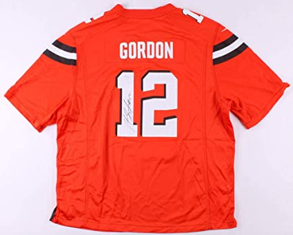 the best attitude f00a5 05868 Josh Gordon Autographed Signed Cleveland Browns Nike Jersey ...