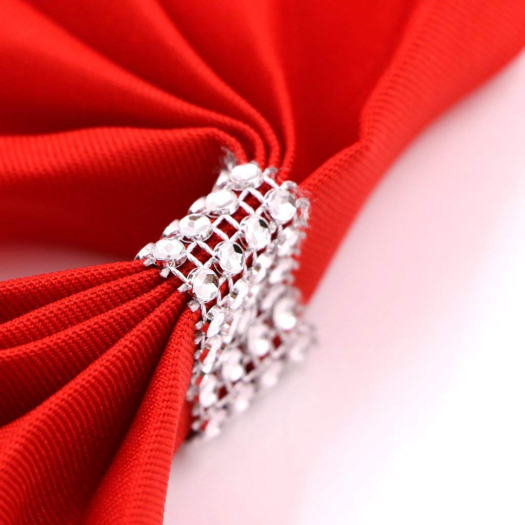 Stretchable and Elasticated Wedding Trimming Shop Readymade Gold Chair Sash Bow Band With Slider Buckle For Banquet Party Chair Sash Decoration Dining 1pc
