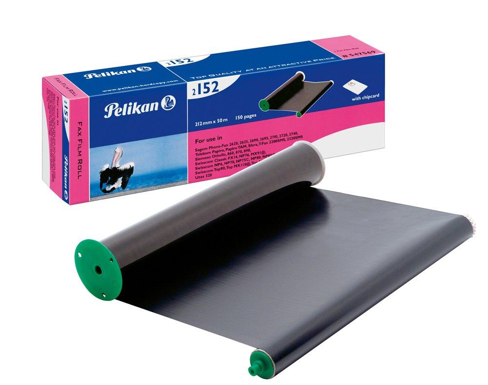 Pelikan termotransfer-Rolle/547569 schwarz mit Chip TTR900,Gr.2152