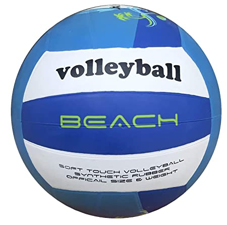 Kobo Beach Rubber Moulded Volley Ball Size 4  White  Volleyball Volleyballs Indoor Volleyballs
