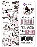 Prima Marketing 655350593049 3X4 Rose Quartz Journaling Cards