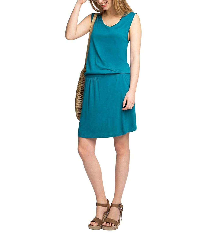 edc by Esprit Women's in leichter Qualit?t Sleeveless Dress