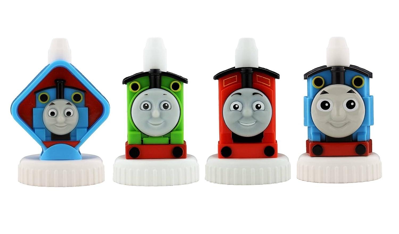 good2grow spill-proofボトルトッパー4 - Pack, Thomas the Train – トーマス、パーシー、ジェームス&トーマス   B07CX47P4W