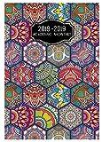 Payne Publishers 2018-2019 Academic Monthly Deco SMB-6V (Hexagons)