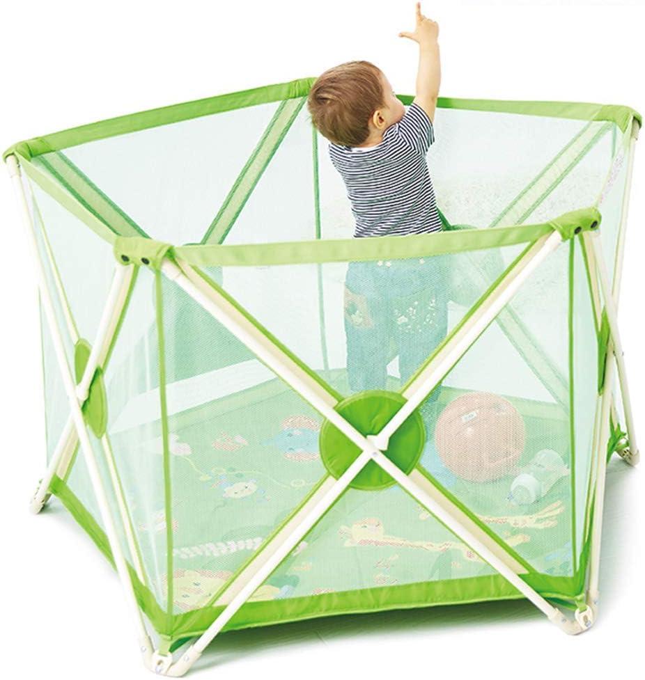 Cerca de corralitos para bebés Alfombrillas para niños pequeños Alfombra Centro de Actividades para niños Juego de Seguridad Área del Patio Castillo de la Puerta Barrera Plegable para bebés