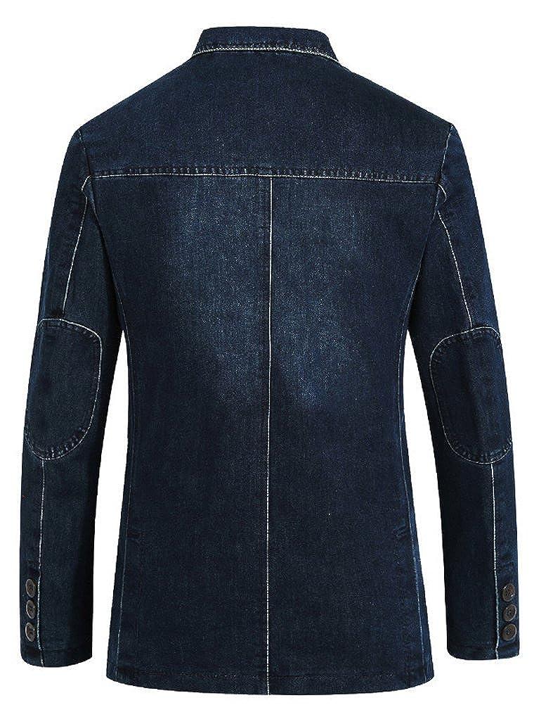 Mallimoda Uomo Giacca Blazer Monopetto Jacket Casual Cappotto  Amazon.it   Abbigliamento 9980a6c1b81