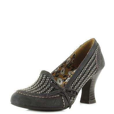 b9139c35 Ruby Shoo Women's Flora Mid Heel Court Shoes: Amazon.co.uk: Shoes & Bags