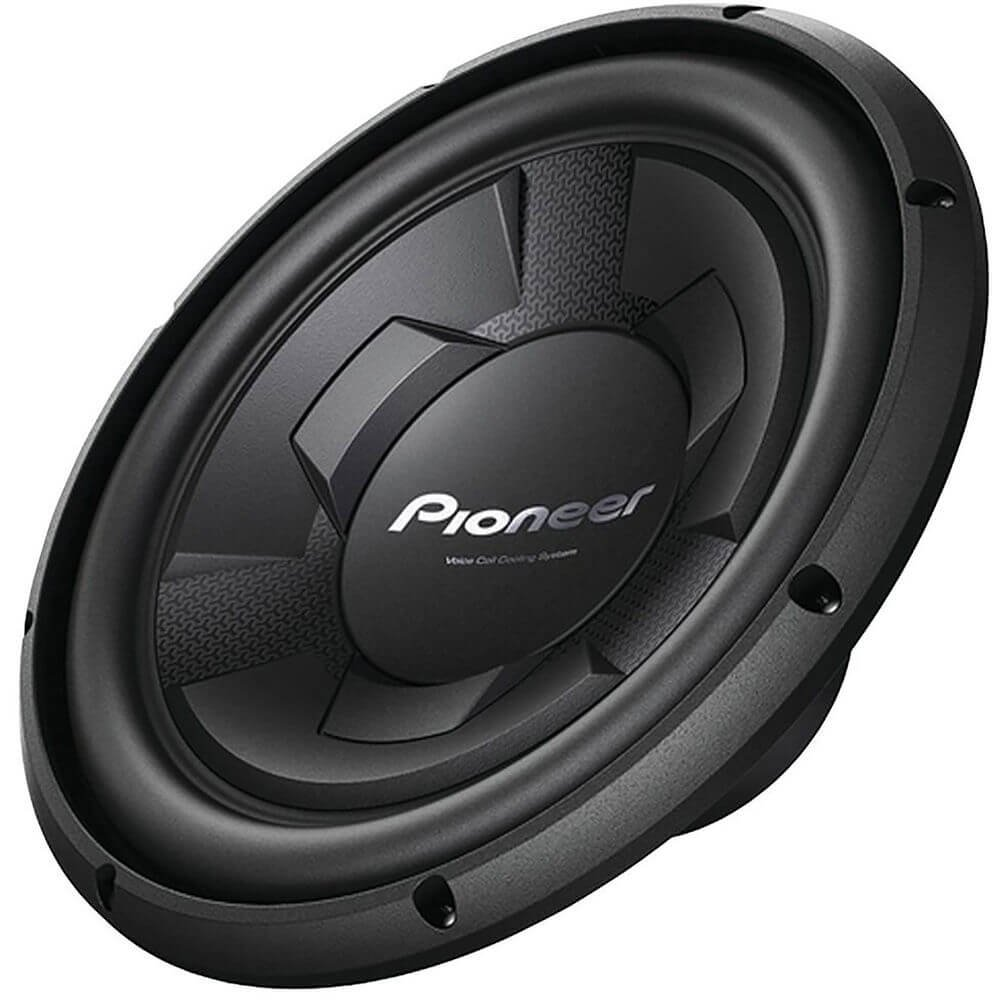 Pioneer TS-W126M Car Subwoofers - Sub driver only, Black Pioneer Electronics USA Inc TSW126M