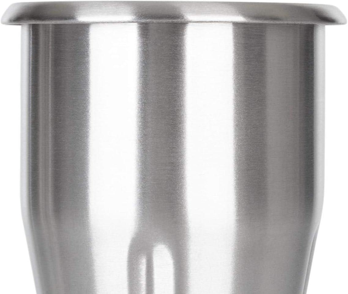 Accessorio KLARSTEIN Kraftpaket Pro Bicchiere in Acciaio Inox Acciaio Inox Ricambio Bicchiere per Miscelare Argento Capacit/à: 1 Litro